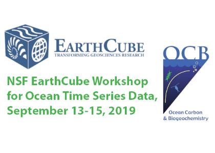 NSF EarthCube Workshop for Ocean Time Series Data :: Ocean