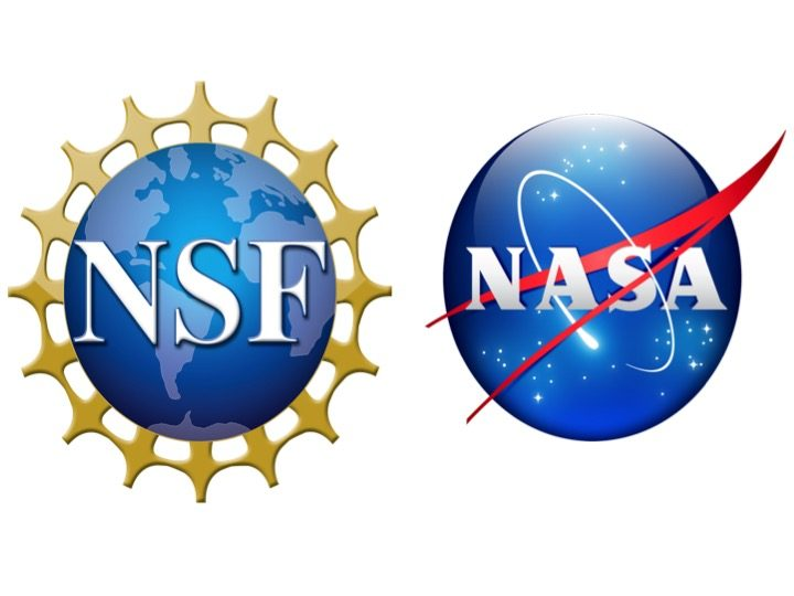 joint NSF NASA logos