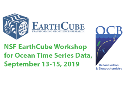 EarthCube time series -slider